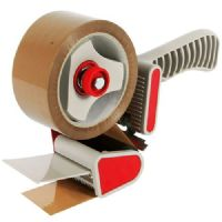 Hand Tape Dispenser/Gun With Adjustable Clutch